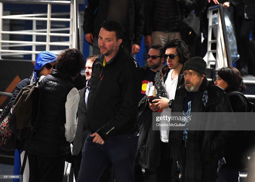 Star Wars Baddie Arrives In Ireland With Cast Members : News Photo