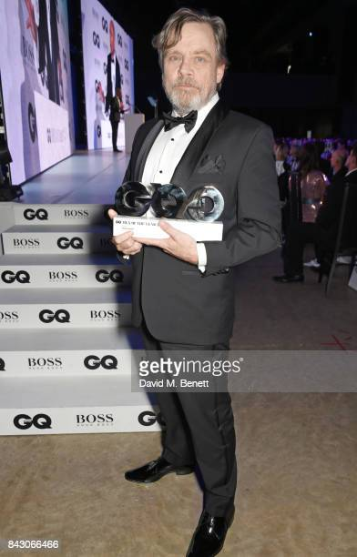 Mark Hamill winner of the Icon award attends the GQ Men Of The Year Awards at the Tate Modern on September 5 2017 in London England