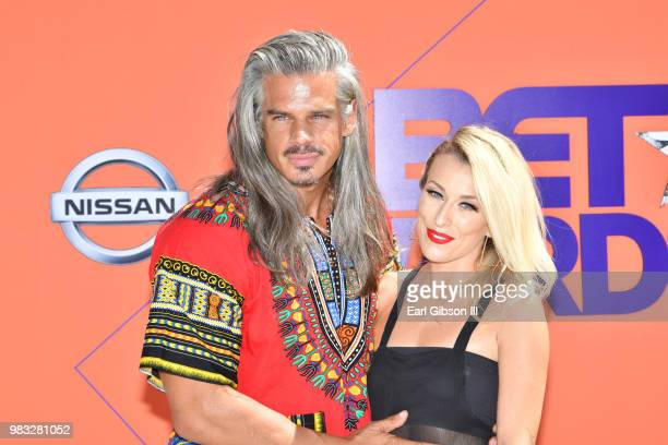 Mark Harley attends the 2018 BET Awards at Microsoft Theater on June 24 2018 in Los Angeles California