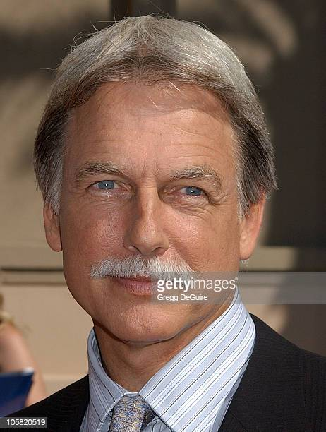 Mark Harmon during 58th Annual Creative Arts Emmy Awards Arrivals at Shrine Auditorium in Los Angeles California United States