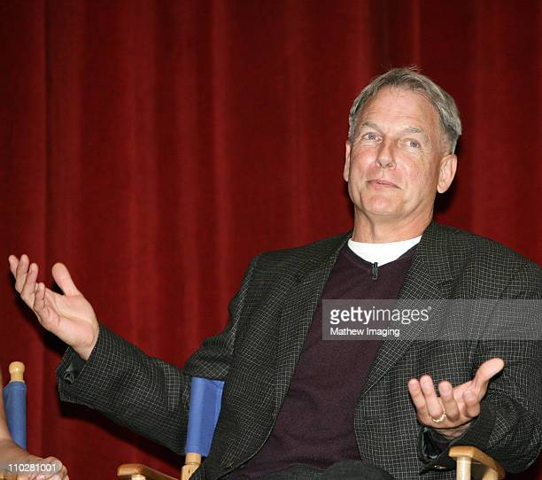 Mark Harmon during CBS Paramount Network Television presents 'For Your Consideration' screening of NCIS at Leonard H Goldenson Theatre in North...