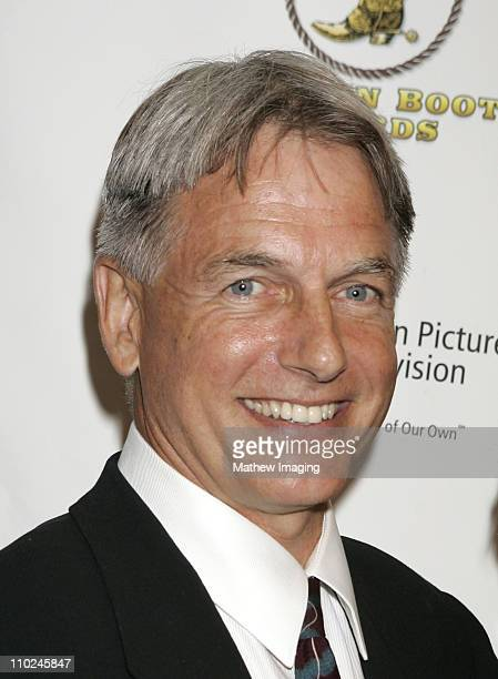 Mark Harmon during The 23rd Annual Golden Boot Awards at Beverly Hilton Hotel in Beverly Hills California United States