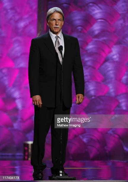 Mark Harmon presenter during 58th Annual Creative Arts Emmy Awards Show at The Shrine Auditorium in Los Angeles California United States