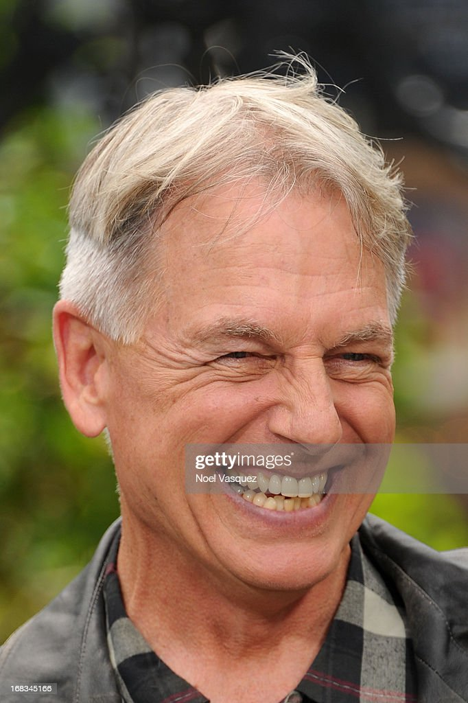 Mark Harmon visits 'Extra' at The Grove on May 8, 2013 in Los Angeles, California.