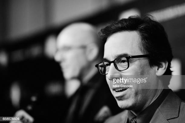 Mark Harris attends the Five Came Back world premiere at Alice Tully Hall at Lincoln Center on March 27 2017 in New York City