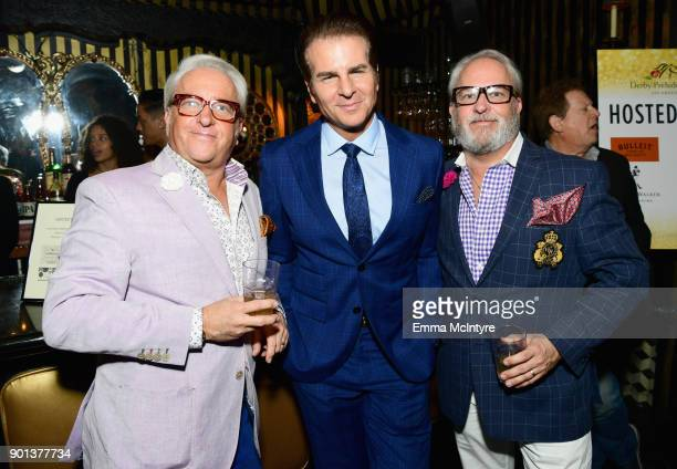 Mark Harris Vincent De Paul and Matt Harris attend the SixthAnnual Star Studded Unbridled Eve Gala at Bardot on January 4 2018 in Hollywood California