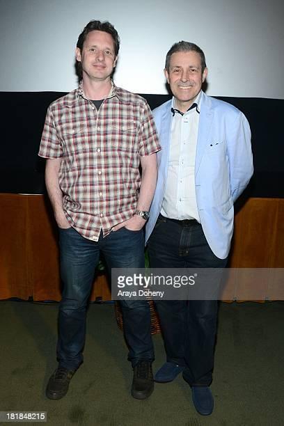Mark Hartley and Antony I Ginnane attend the Australians In Film Screening of Patrick on September 25 2013 in Los Angeles California