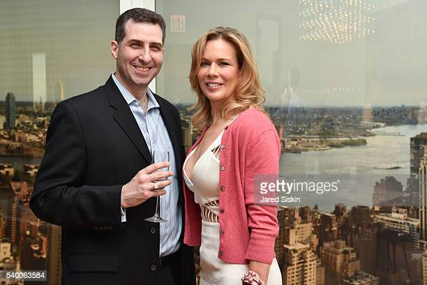 Mark Herschberg and Erin Gibbs attend ABT Spring Assemble at 201 East 57th Street on June 13 2016 in New York City