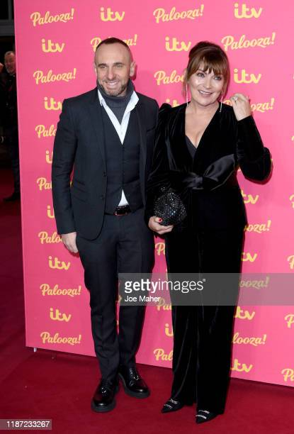 Mark Heyes and Lorraine Kelly attend the ITV Palooza 2019 at The Royal Festival Hall on November 12 2019 in London England