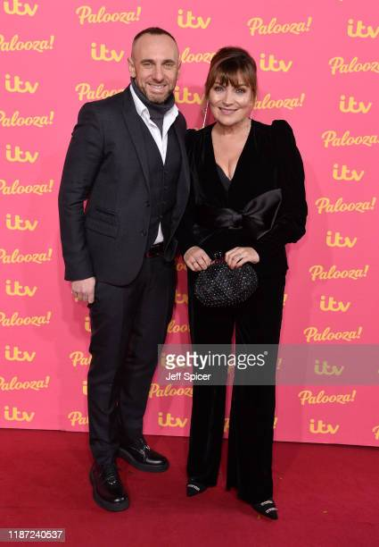 Mark Heyes and Lorraine Kelly attends the ITV Palooza 2019 at the Royal Festival Hall on November 12 2019 in London England