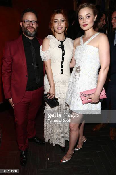 Mark Heyman Elena Satine and Bella Heathcote attend the After Party for the Premiere Of CBS All Access' 'Strange Angel' at Avalon on June 4 2018 in...