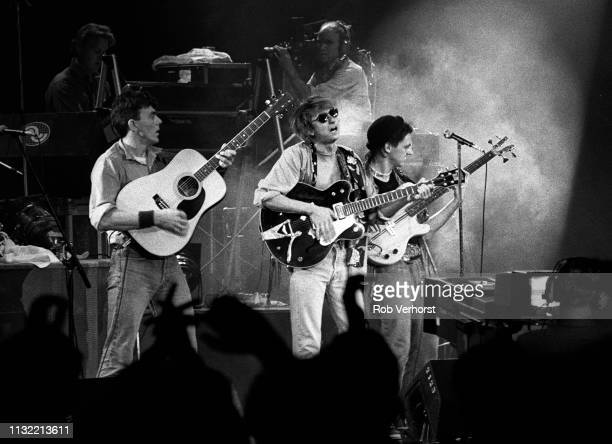 Mark Hollis of Talk Talk performs on stage at Veronica's Rocknight Ahoy Rotterdam Netherlands 21st September 1984