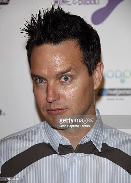 Mark Hoppus arrives at The Surfrider Foundation's 25th Anniversary Gala at the California Science Center's Wallis Annenberg Building on October 9...