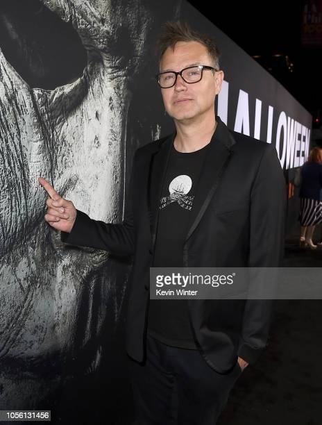 """Mark Hoppus attends the Universal Pictures' """"Halloween"""" premiere at TCL Chinese Theatre on October 17, 2018 in Hollywood, California."""