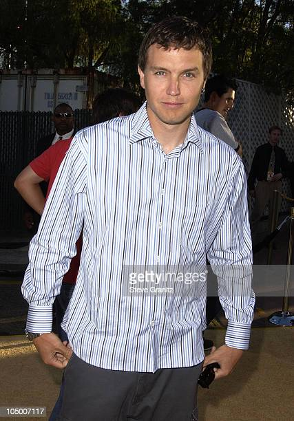 Mark Hoppus during Austin Powers In Goldmember Premiere at Universal Amphitheatre in Universal City California United States