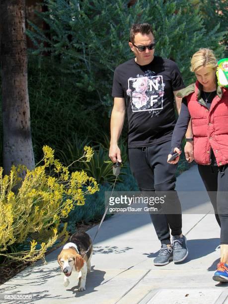 Mark Hoppus is seen on May 15 2017 in Los Angeles California