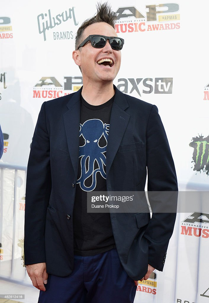 Mark Hoppus of Blink 182 attends the 2014 Gibson Brands AP Music Awards at the Rock and Roll Hall of Fame and Museum on July 21, 2014 in Cleveland, Ohio.