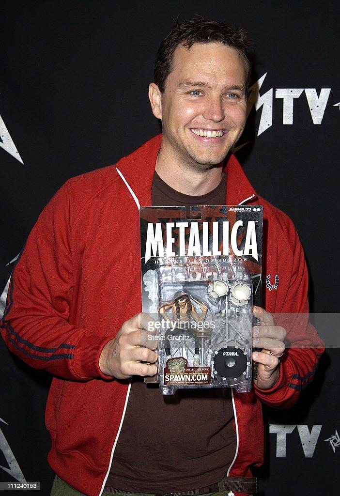 mtvICON: Metallica - Arrivals : News Photo