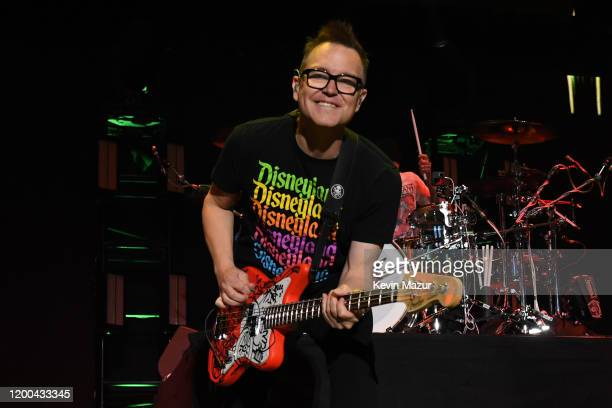 Mark Hoppus of blink-182 performs onstage at the 2020 iHeartRadio ALTer EGO at The Forum on January 18, 2020 in Inglewood, California.