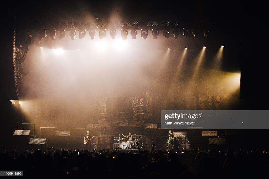 Blink-182 And Lil Wayne Perform At The Forum : Foto jornalística