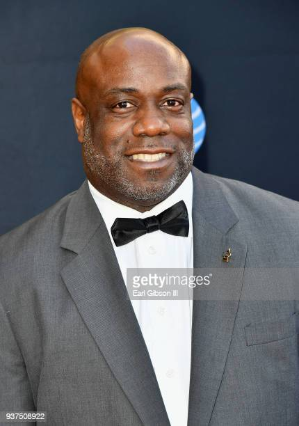 Mark Hubbard attends the 33rd annual Stellar Gospel Music Awards at the Orleans Arena on March 24 2018 in Las Vegas Nevada
