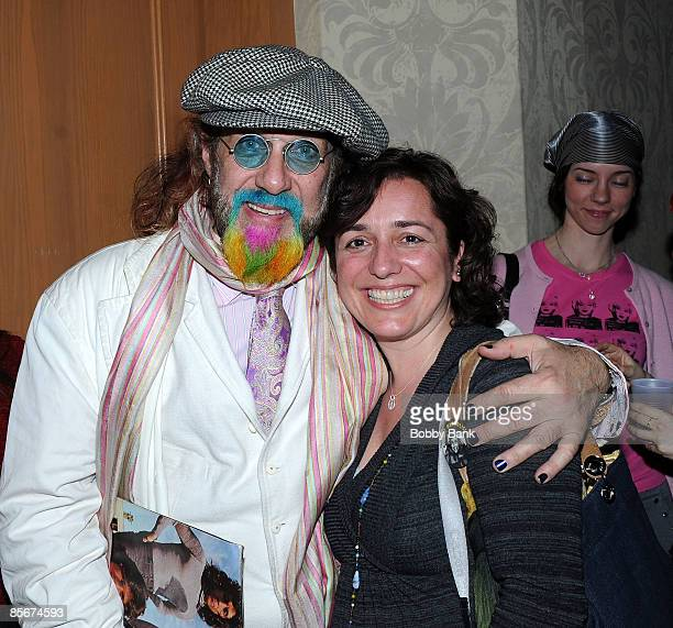 Mark Hudson and fan attend the 35th Anniversary of The Fest For Beatles Fans celebration at the Crowne Plaza Meadowlands on March 27 2009 in Secaucus...