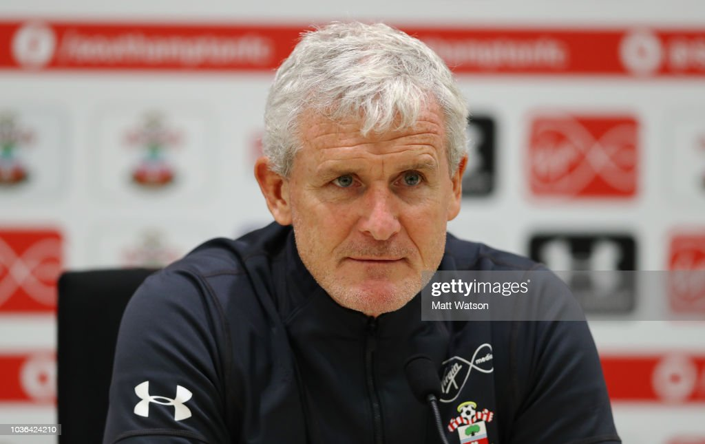 Southampton Training Session and Press Conference