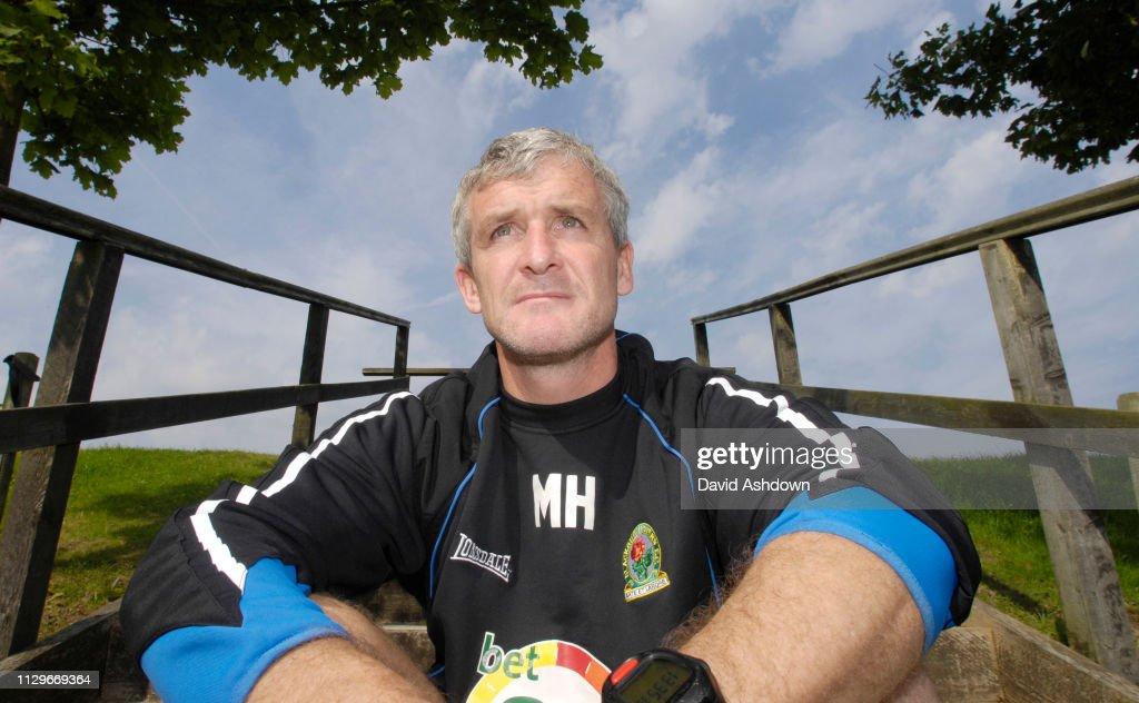 Mark Hughes manager of Blackburn Rovers FC 2006 : Nachrichtenfoto