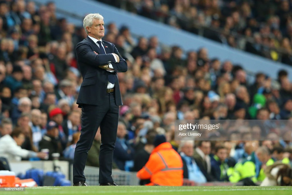Manchester City v Southampton FC - Premier League : News Photo