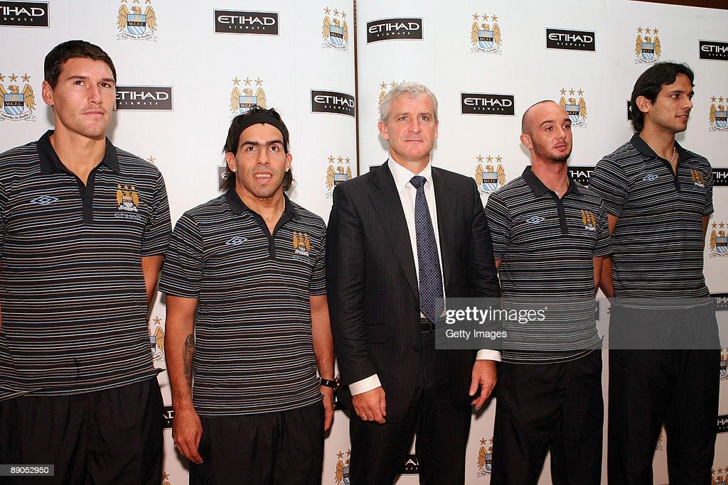 Manchester City Photoshoot : News Photo