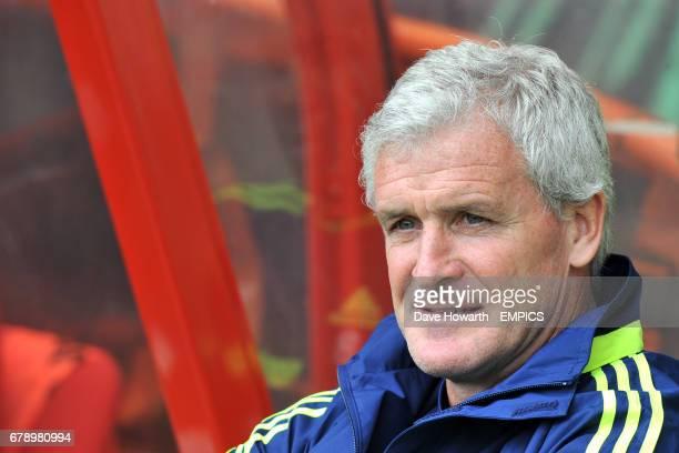 Mark Hughes Stoke City manager