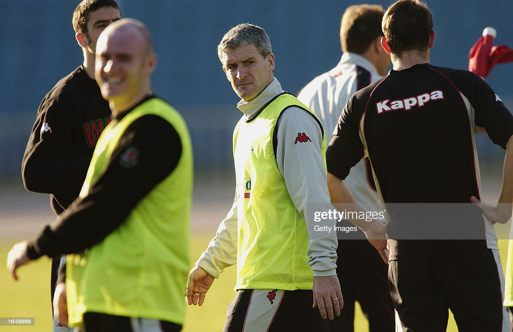 Mark Hughes, the Welsh Manager : News Photo