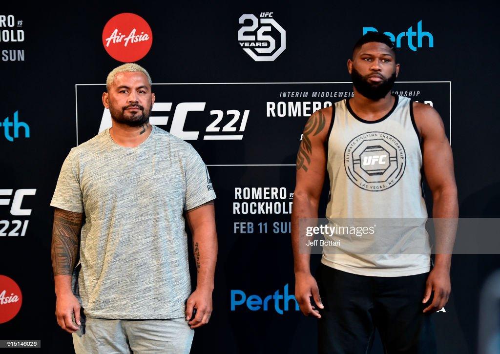 UFC 221 Press Conference
