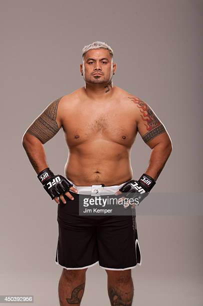 Mark Hunt poses for a portrait on May 23 2013 in Las Vegas Nevada