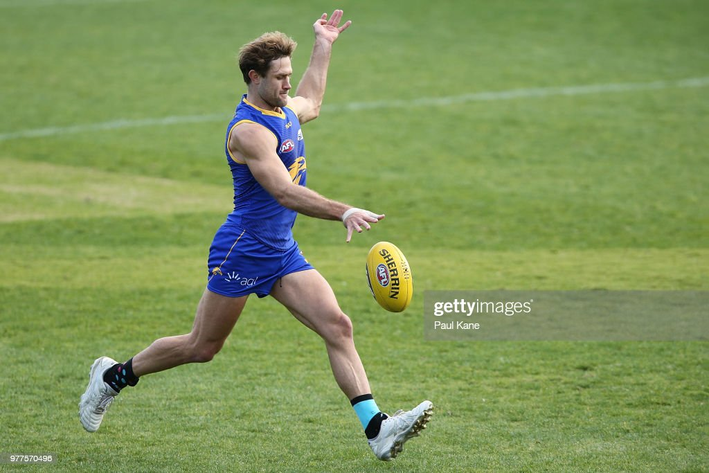 West Coast Eagles Training Session