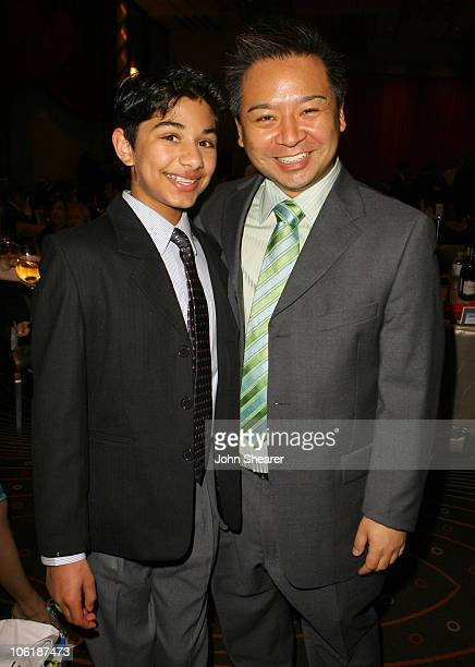 Mark Indelicato and Rex Lee * EXCLUSIVE * during 18th Annual GLAAD Media Awards - Los Angeles - After Party at Kodak Theater in Los Angeles,...