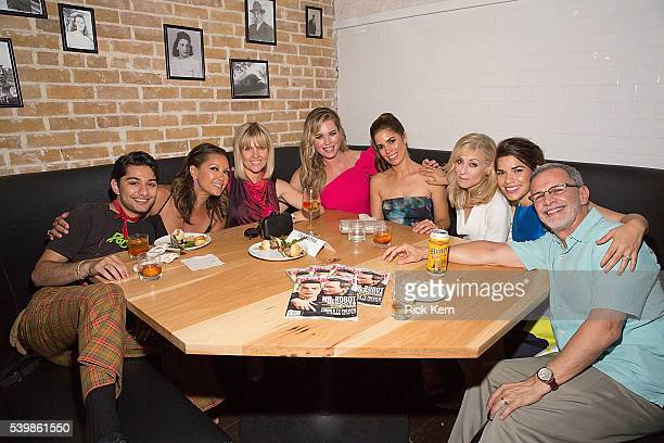 Mark Indelicato Vanessa Williams Ashley Jensen Rebecca Romijn Ana Ortiz Judith Light America Ferrera and Tony Plana attend the Ugly Betty Reunion...