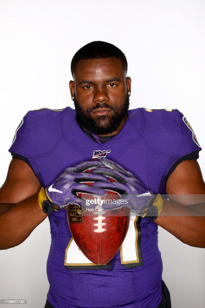 Baltimore Ravens Portraits : News Photo