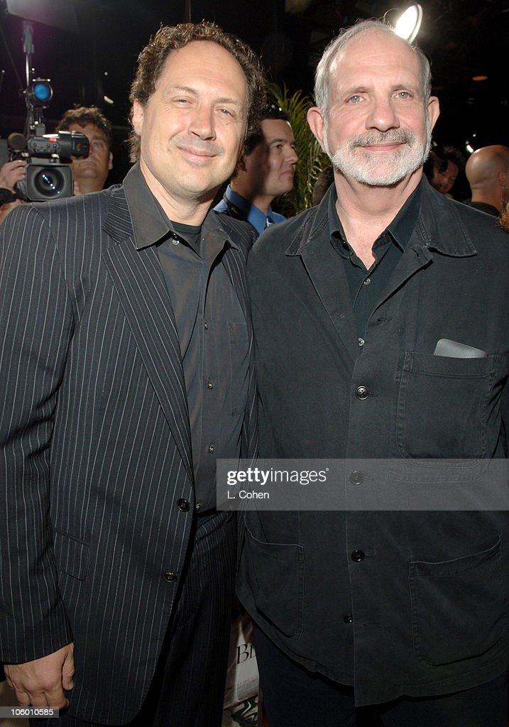 Mark Isham, composer and Brian De Palma, director during
