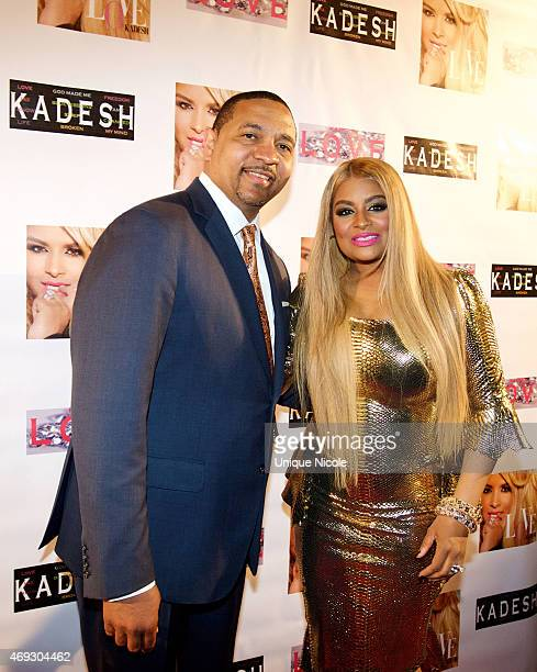 Mark Jackson and Desiree Coleman Jackson attend the Private Listening Party For Kadesh aka Desiree Coleman Jackson Hosted By ESPN Sports Analyst Mark...