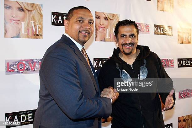 Mark Jackson attends the Private Listening Party For Kadesh aka Desiree Coleman Jackson Hosted By ESPN Sports Analyst Mark Jackson at HOME on April...