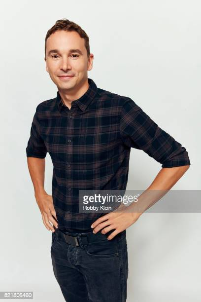 Mark Jackson from FOX's 'The Orville' poses for a portrait during Comic-Con 2017 at Hard Rock Hotel San Diego on July 22, 2017 in San Diego,...