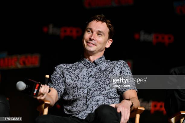 Mark Jackson speaks on stage during Hulu's The Orville at New York Comic Con 2019 Day 4 at Jacob K Javits Convention Center on October 06 2019 in New...