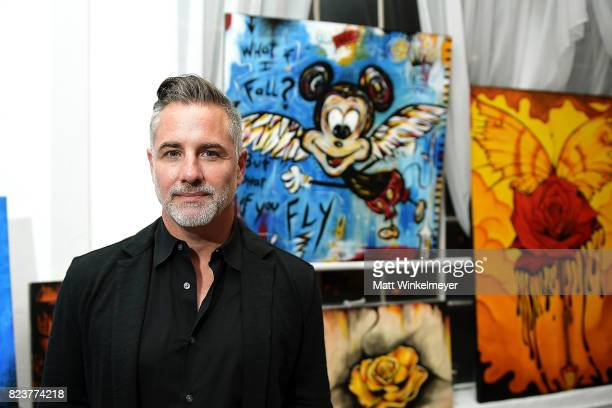 Mark Jacobs attends Freedom United Foundation presents Art with a Cause on July 27 2017 in Los Angeles California