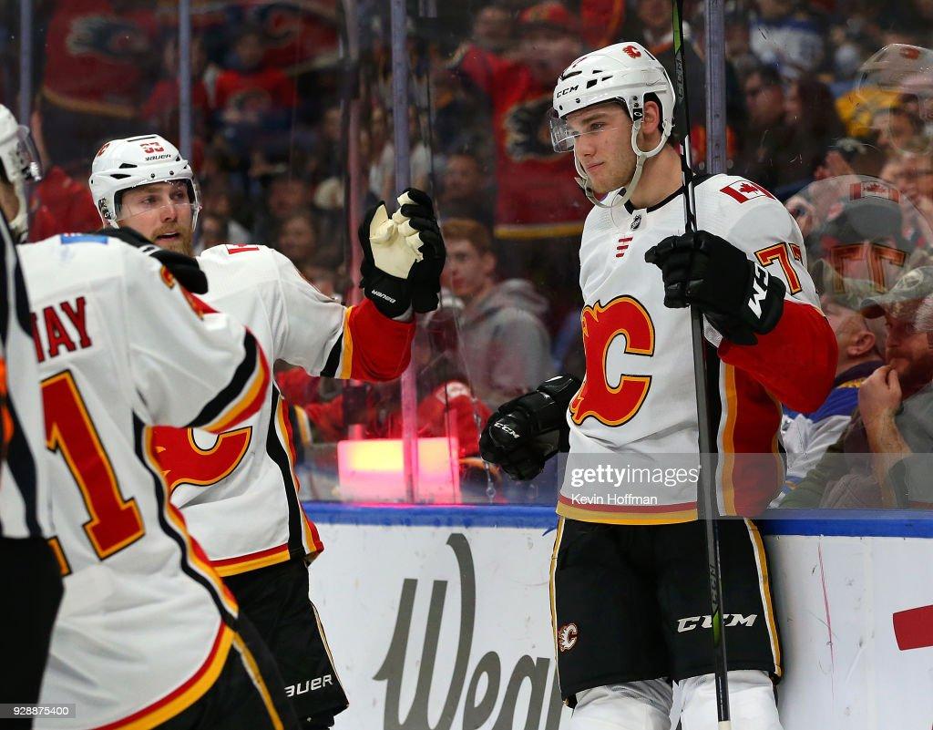 Calgary Flames v Buffalo Sabres : News Photo