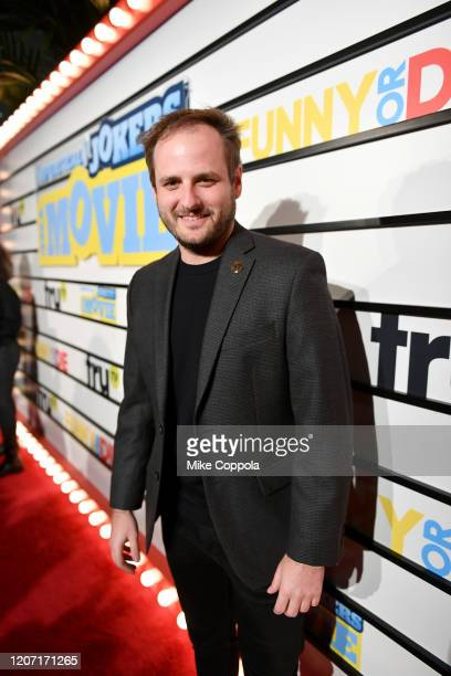 Mark Jigarjian attends the Impractical Jokers The Movie Premiere Screening and Party on February 18 2020 in New York City 739100