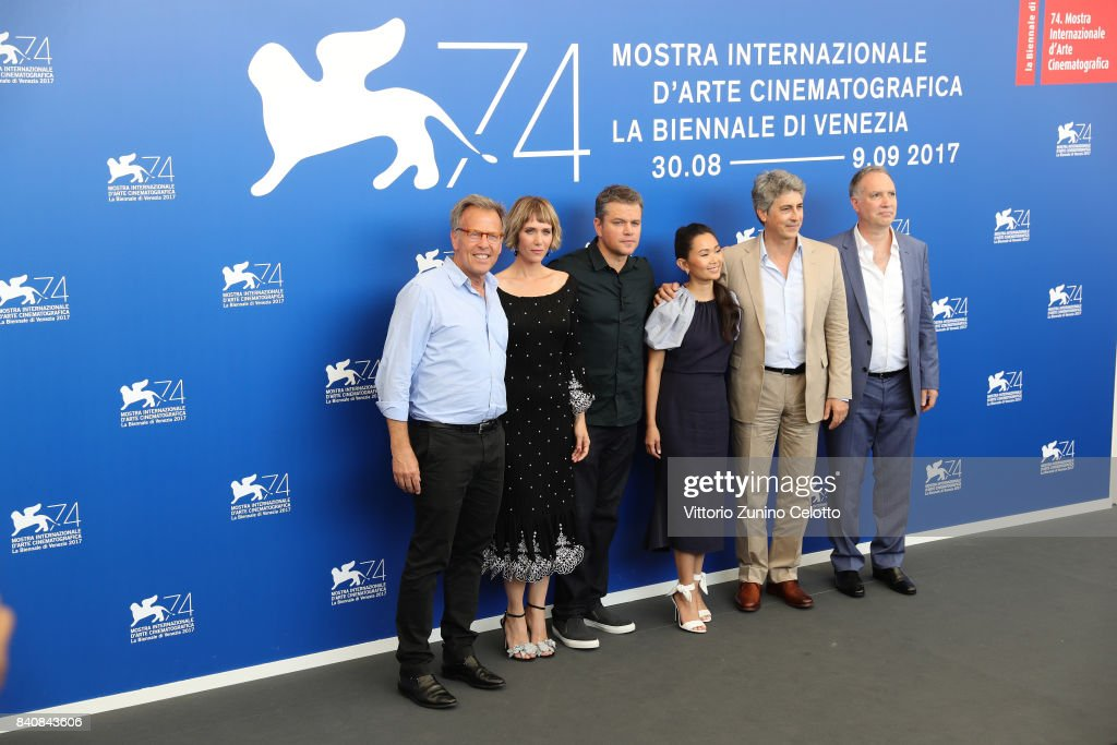 Downsizing Photocall - 74th Venice Film Festival