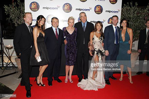 Mark Kaner, President 20th Century Fox Television Distribution, Lake Bell, Paul Zilk, President and CEO of Reed Midem, Portia de Rossi, Gary Newman,...