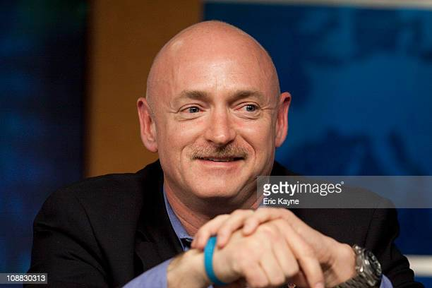 Mark Kelly, astronaut and husband of Rep. Gabrielle Giffords , talks about his plans for the upcoming shuttle mission at the Johnson Space Center...