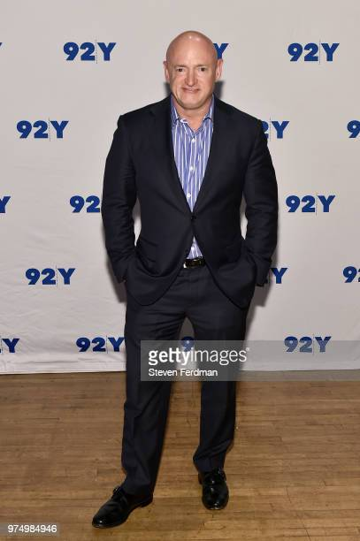 Mark Kelly poses for a photo ahead of Mark Kelly In Conversation With Samantha Bee at 92Y on June 14 2018 in New York City